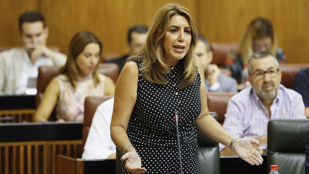 Susana Díaz cerró con C's su presupuesto mientras el PSOE se rompía