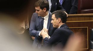 La frontera entre PSOE y Ciudadanos: ¿línea Maginot o telón de acero?