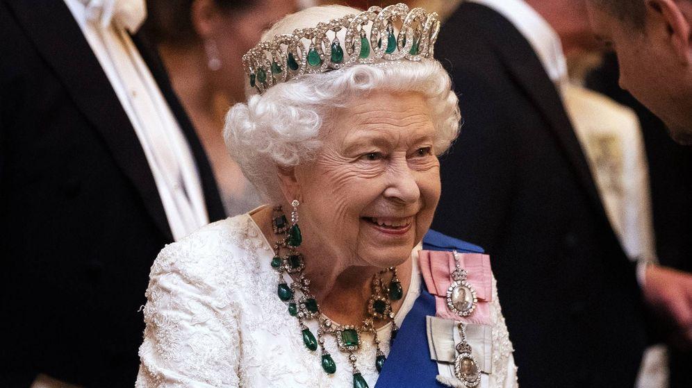 Foto: La reina Isabel en Buckingham. (CP)