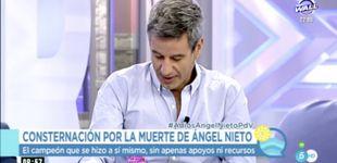 Post de Nico Abad, impactado con la muerte de Ángel: