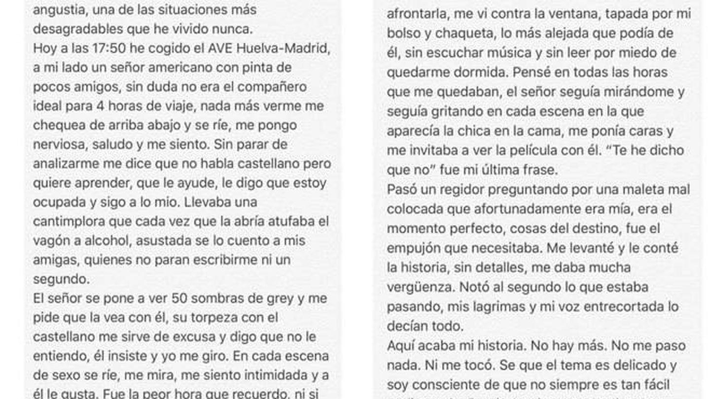 Resumen del escrito de Luna Serrat