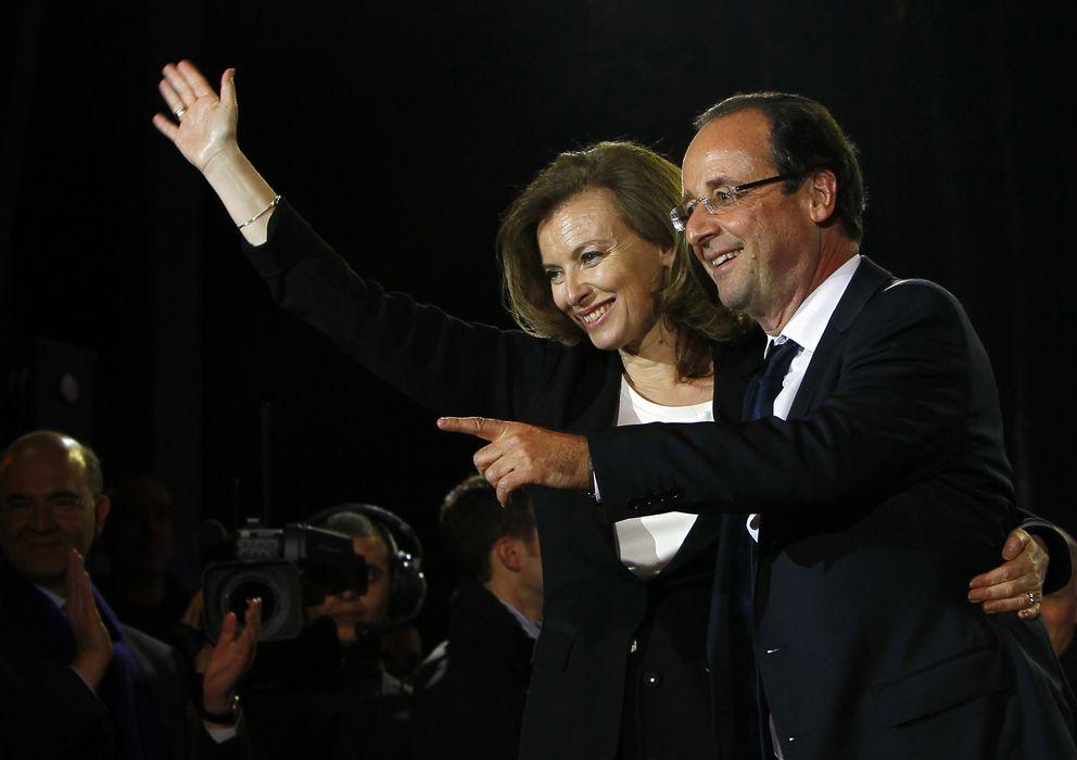 Foto: Francois Hollande y Valerie Trierweiler en una imagen de archivo (Gtres)