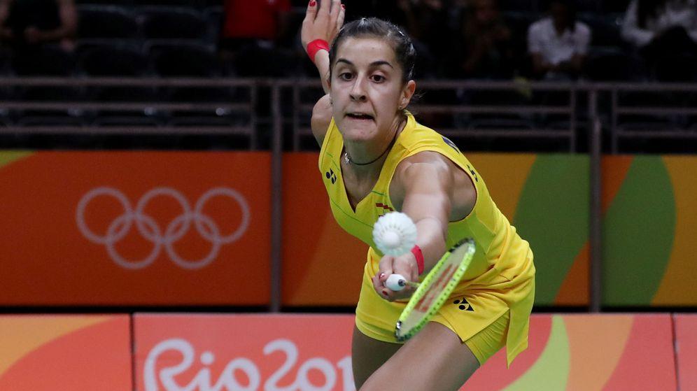 Foto: Marín venció su primer partido en los Juegos en menos de media hora (Leonardo Muñoz/EFE)