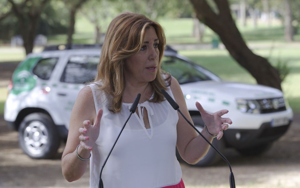 Foto: La presidenta andaluza, Susana Díaz, el pasado 13 de julio en Sevilla. (EFE)