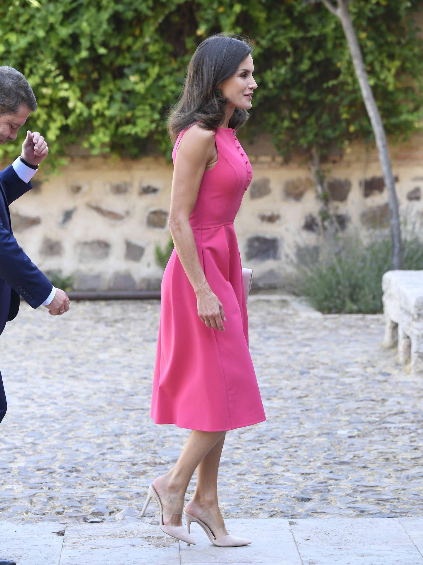 La reina Letizia, este martes en Almagro. (Limited Pictures)