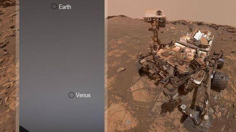 El rover Curiosity capta la primera fotografía de la Tierra y Venus desde Marte