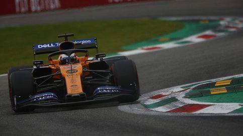 Carlos Sainz, con la cabeza sobre los hombros en el esperpento final de Monza