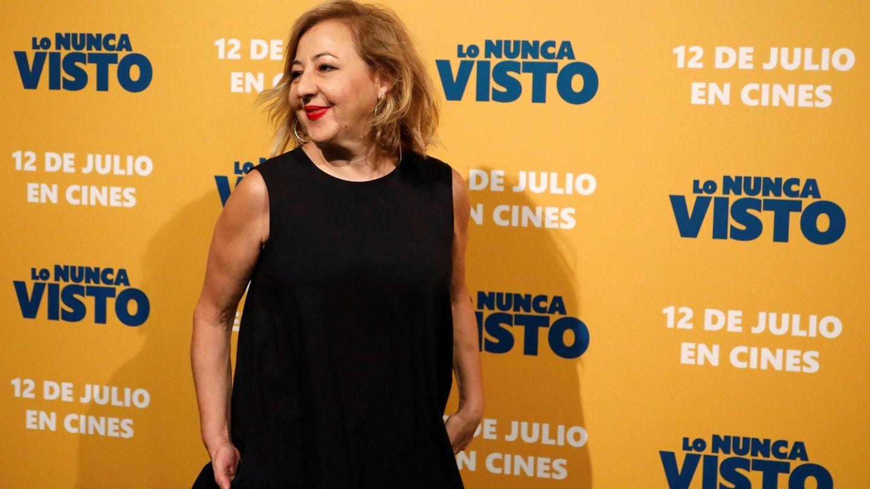 Carmen Machi, en el preestreno de 'Lo nunca visto', el pasado mes de julio. (EFE)