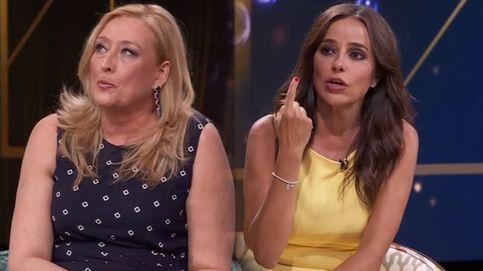 Estás cegada: Elisa Beni busca las cosquillas a Carmen Alcayde en 'Lazos de sangre'