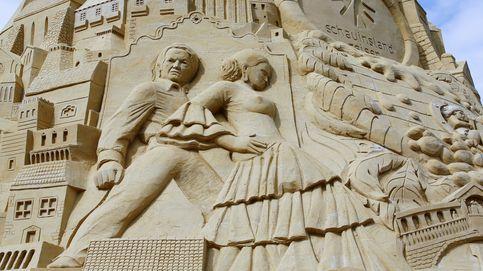 El castillo de arena más alto del mundo y la exposición Prado: el día en fotos