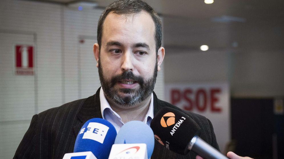 Foto: Sergio Cebolla, precandidato a las primarias del PSOE. (EFE)