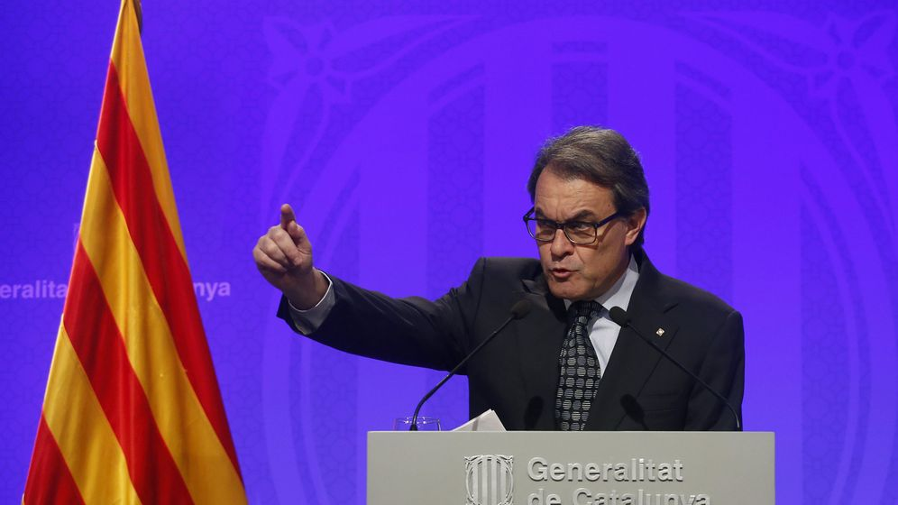 Foto: El discurso de Artur Mas ha sonado más a 'bronca' que a explicación. (Reuters)