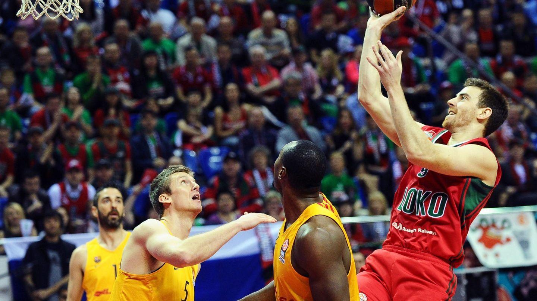 El Lokomotiv Kuban de Claver dejó fuera de la última Final Four al Barcelona (Maxim Romanov/EFE)