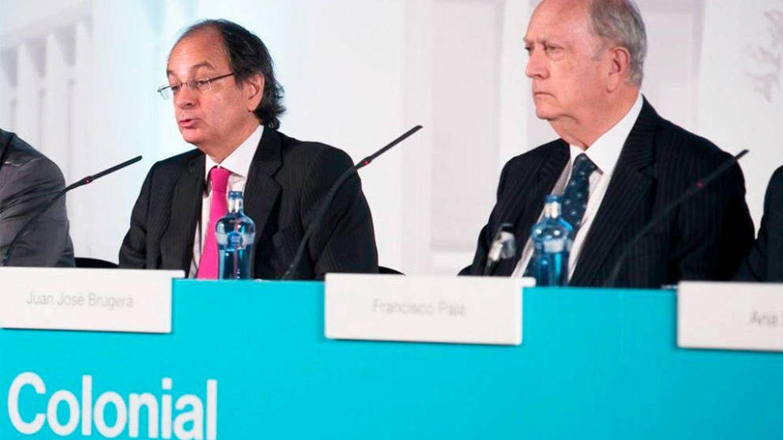 Pere Viñolas y Juan José Bruguera. (EFE)