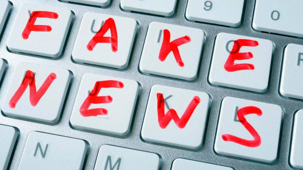 Foto: 'Fake news'.