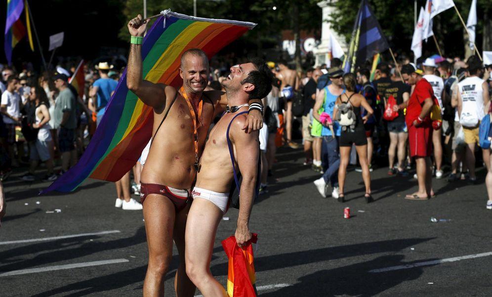 Foto: Participantes en la manifestación del Orgullo Gay de Madrid en 2015. (Reuters)