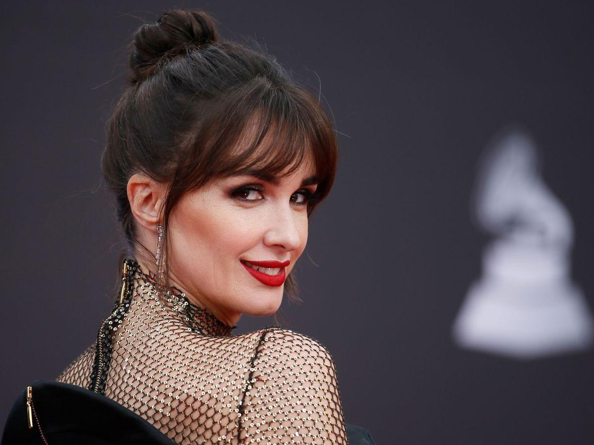 Foto: Paz Vega en los Grammy. (Reuters)