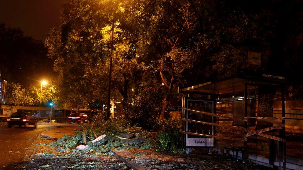 El huracán Leslie llega a Zamora ya convertido en tormenta tropical