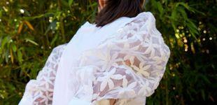Post de Une camiseta blanca, margaritas y organza... y tienes esta maravilla de Sfera