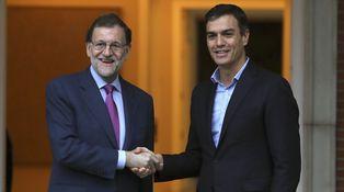 Rajoy y Sánchez reactivan el bipartidismo