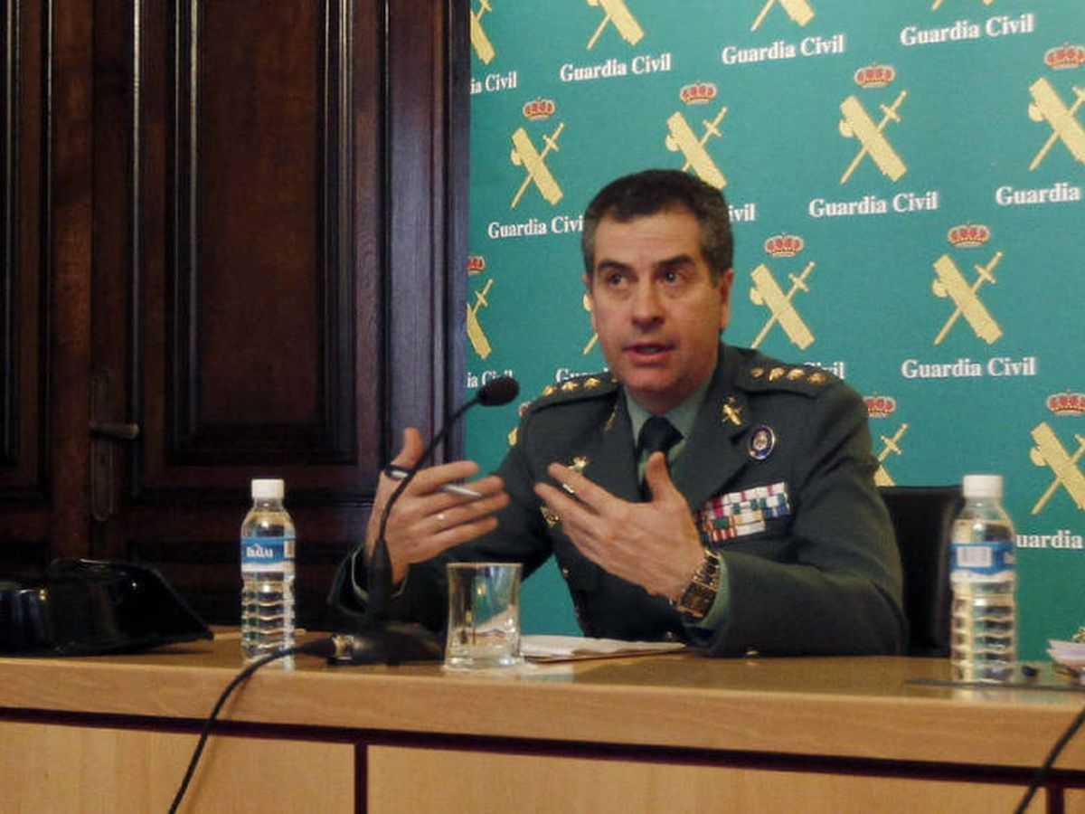 Foto: El general Juan Luis Pérez será previsiblemente el próximo mando de Fronteras y Policía Marítima. (EC)