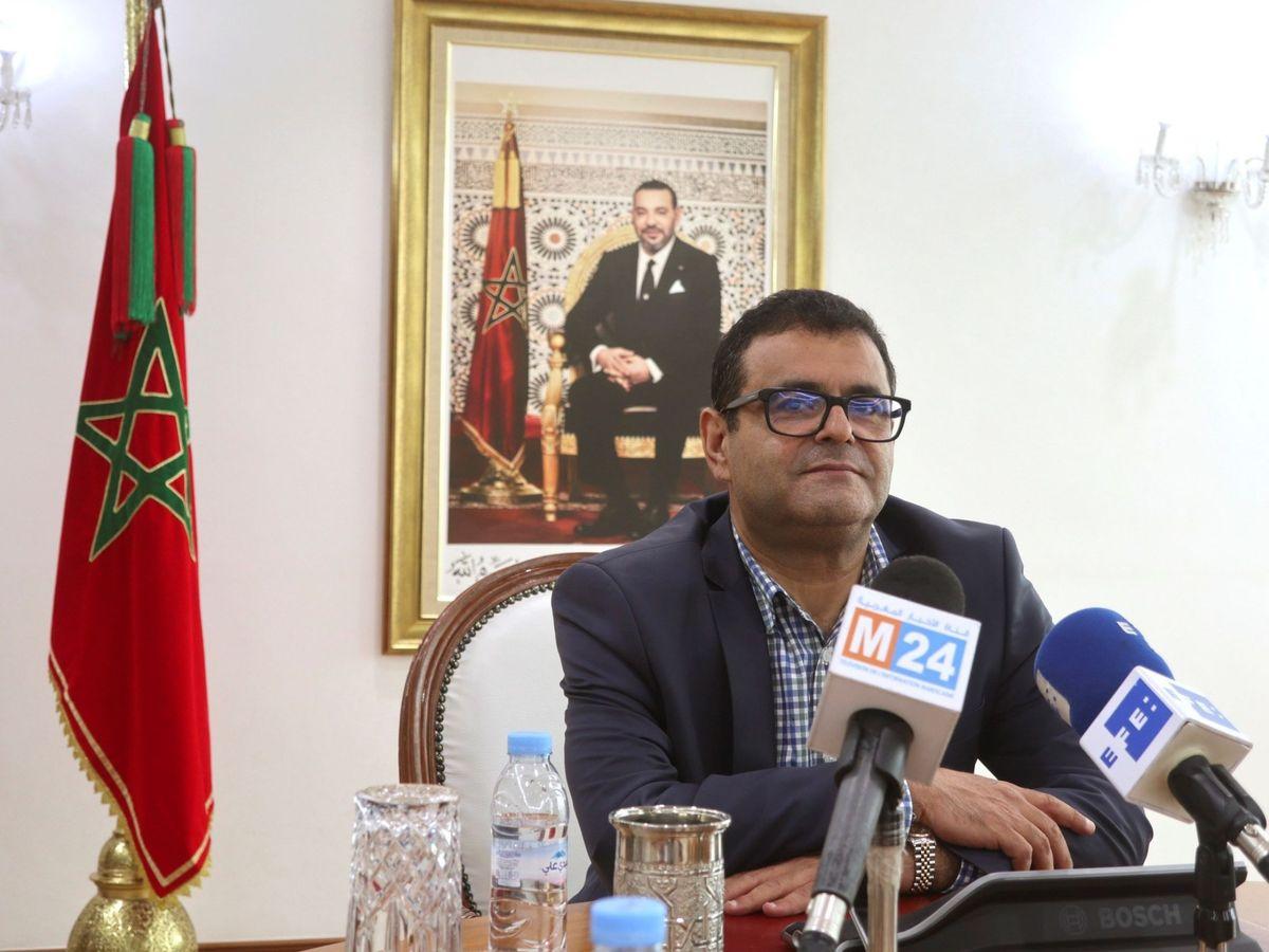 Foto: El director de Asuntos Políticos en el ministerio de Exteriores, Fouad Yazough. (EFE)