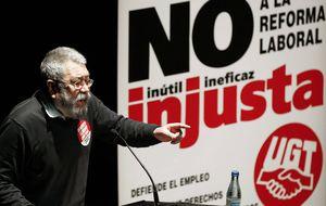 Méndez: UGT-Andalucía se va a responsabilizar de los ERE