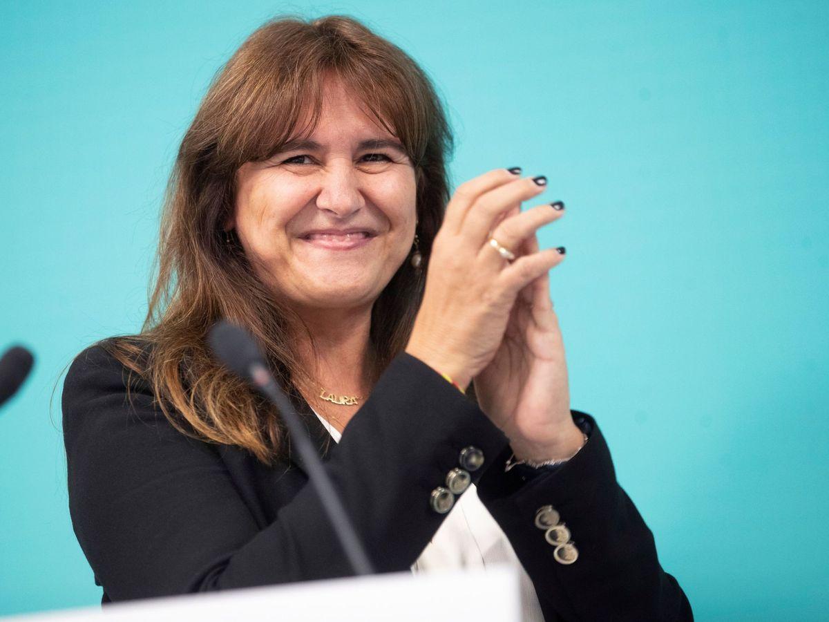 Foto: La candidata a la presidencia de la Generalitat, Laura Borràs. (EFE)