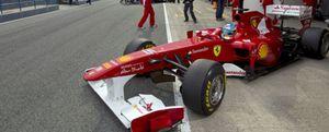 Alonso marca el tercer tiempo en Jerez por detrás de Barrichello y Kobayashi