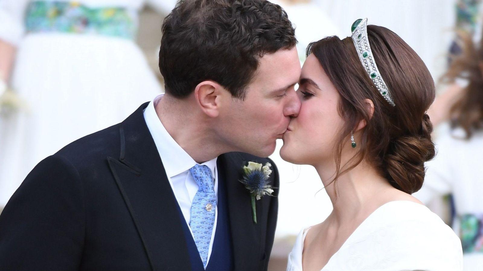 Foto: Boda de la princesa Eugenia con Jack Brooksbank. (EFE)