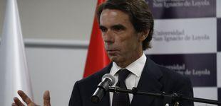 Post de Aznar defiende una