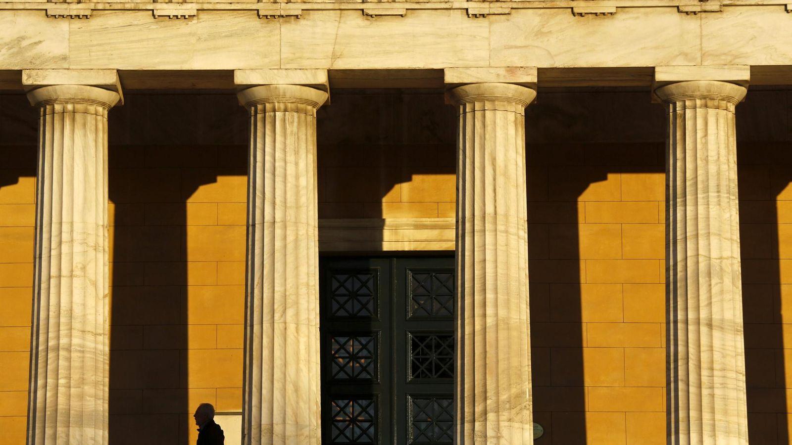 Foto: Parlamento griego en Atenas.(Reuters)