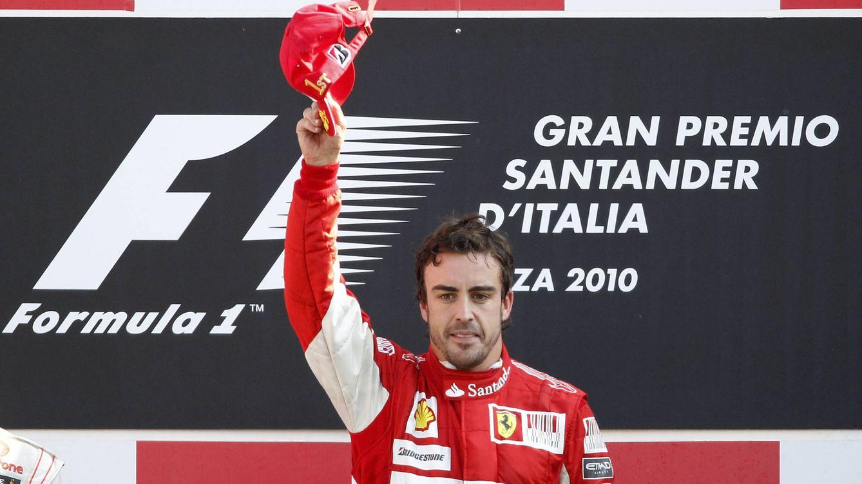 Foto: La última victoria de Alonso y Ferrari en Monza: GP de Italia 2010. (Reuters)