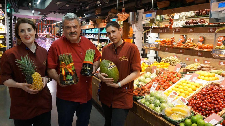 Luis Pacheco y su equipo de Gold Gourmet.