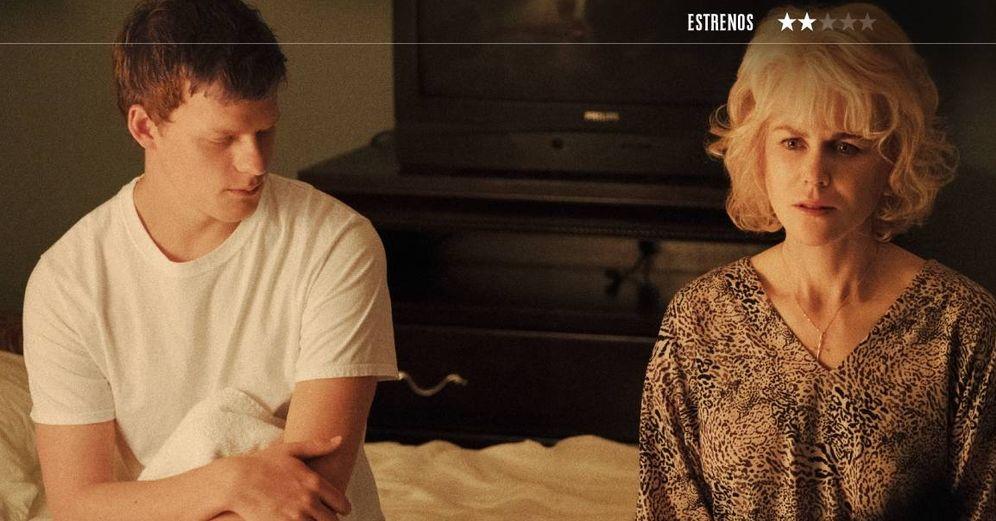 Foto: Lucas Hedges y Nicole Kidman son hijo y madre en 'Identidad borrada', de Joel Edgerton. (Universal)