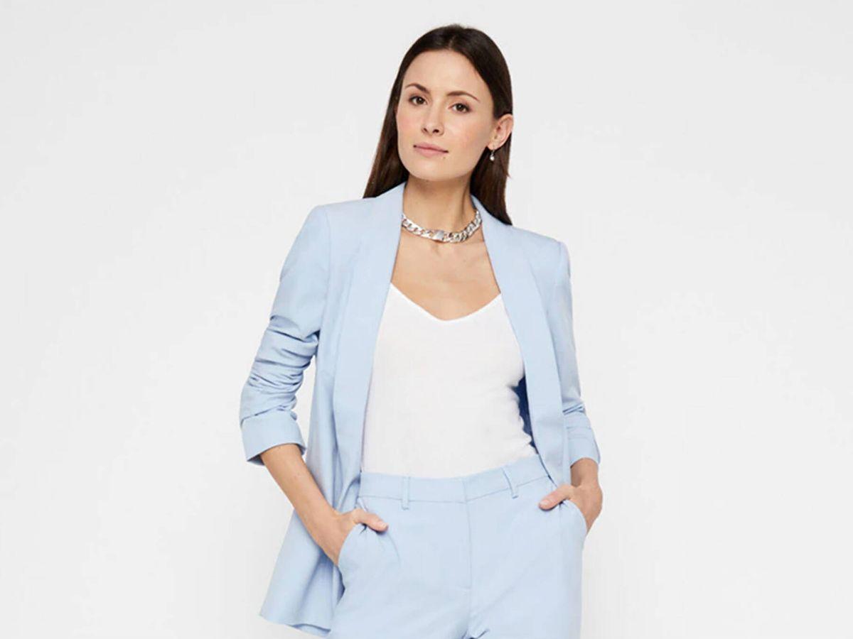 Foto: La chaqueta blazer de El Corte Inglés que dará un toque elegante a tus looks. (Cortesía)