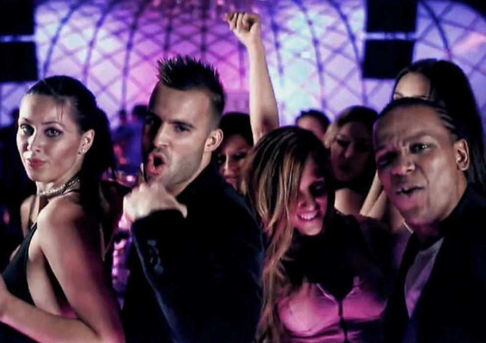 Foto: Jesé Rodríguez, a la izquierda, en uno de los videoclips de Big Flow