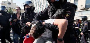 Post de Casi 700 detenidos en Moscú por exigir elecciones libres