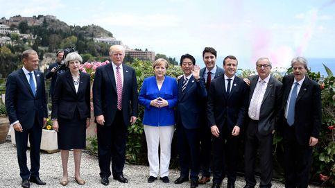 Merkel considera que EEUU (Trump) y Reino Unido (May) ya no son de fiar