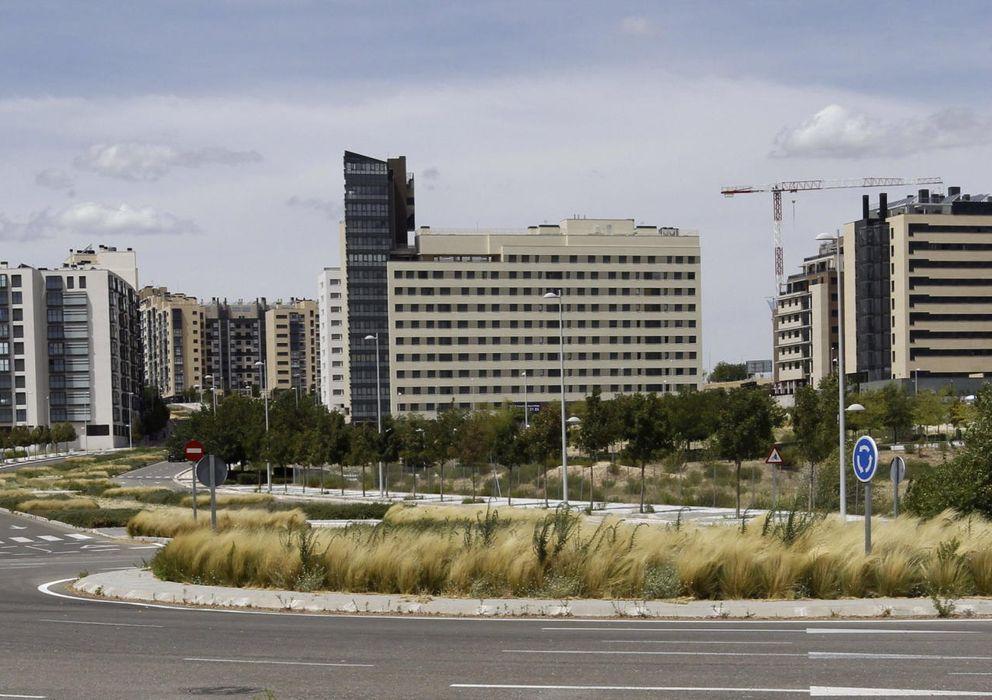 Foto: Desarrollo Urbanístico de Valdebebas en Madrid