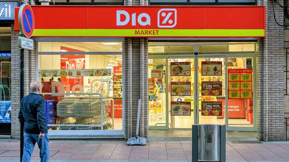Dia se dispara un 30,9% tras la masiva afluencia a los supermercados por el virus
