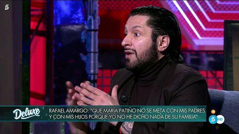 La fea (y censurada) insinuación de Rafael Amargo sobre María Patiño en el 'Deluxe'