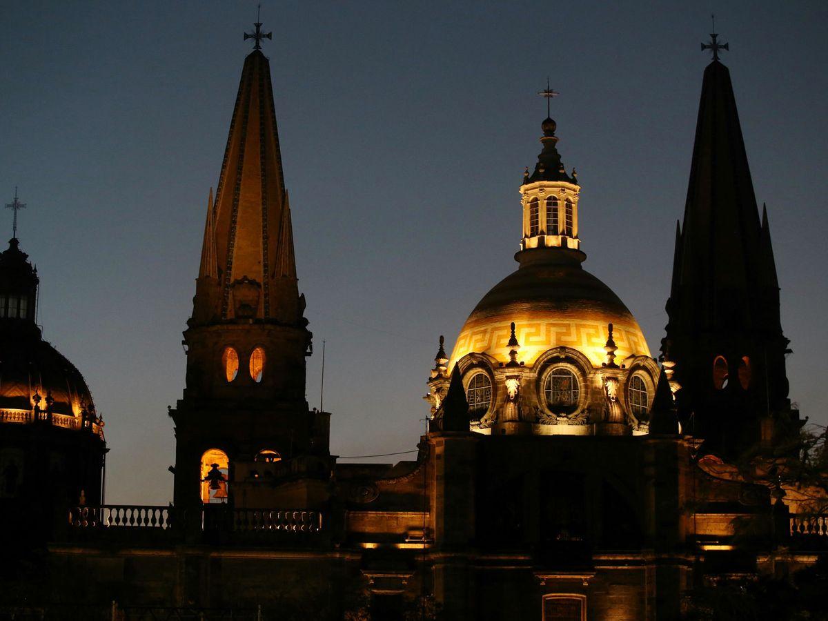 Foto: Cúpula de la catedral de Guadalajara, en el estado mexicano de Jalisco (EFE)