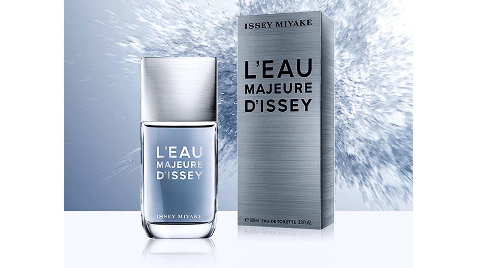 L'Eau Majeure d'Issey: la fuerza del agua en un perfume de