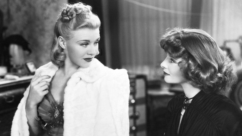 Junto a Katharine Hepburn en 'Damas del teatro'. (CP)