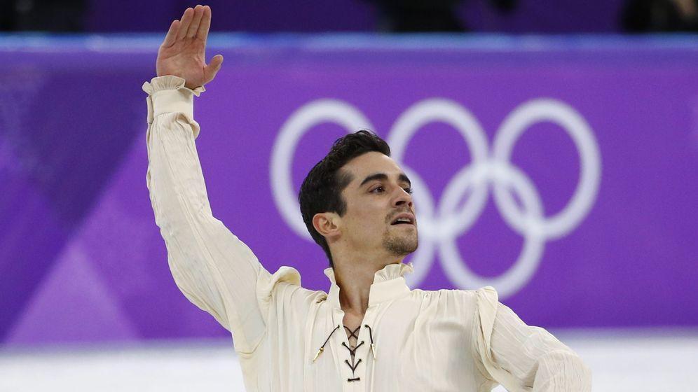 Foto: Javier Fernández se hace con el bronce. (Reuters)