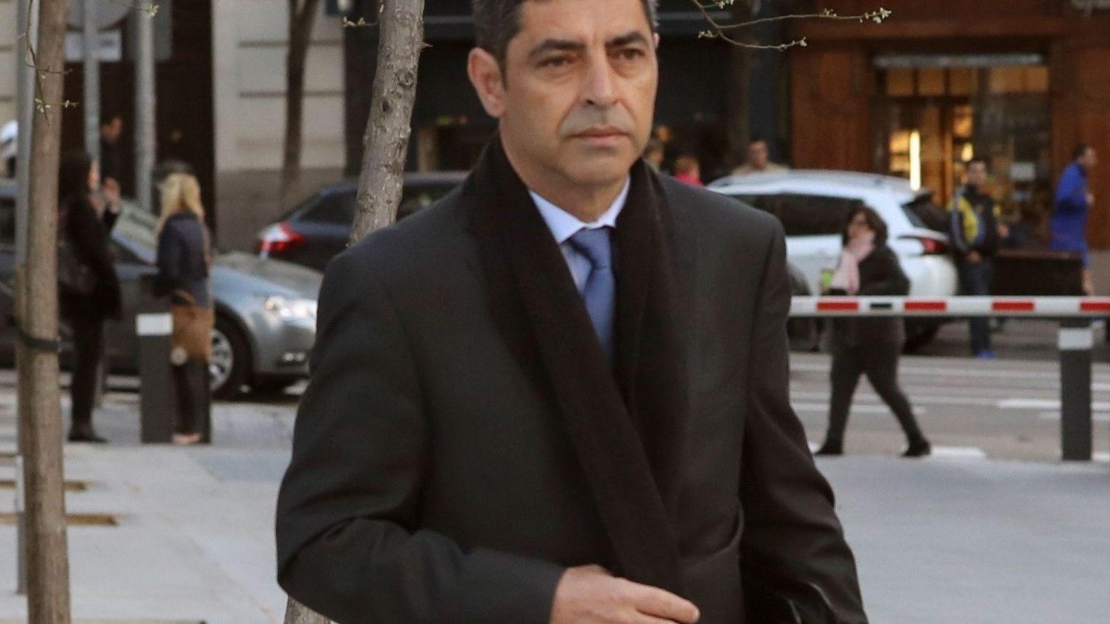 Foto: Fotografía de archivo del mayor de los Mossos Josep Lluís Trapero. (EFE)