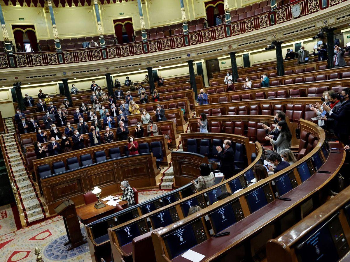 Foto: Vista del hemiciclo del Congreso. (EFE)