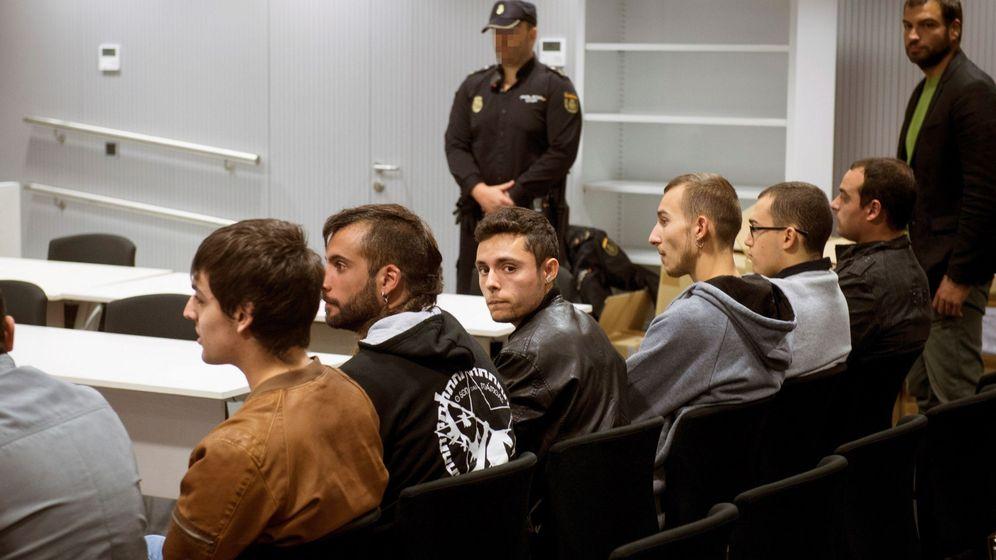 Foto: Juicio en la Audiencia Nacional a La Insurgencia. (EFE)