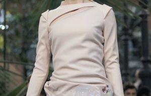 Fernando Hierro asiste al desfile de su hija como modelo en Cibeles